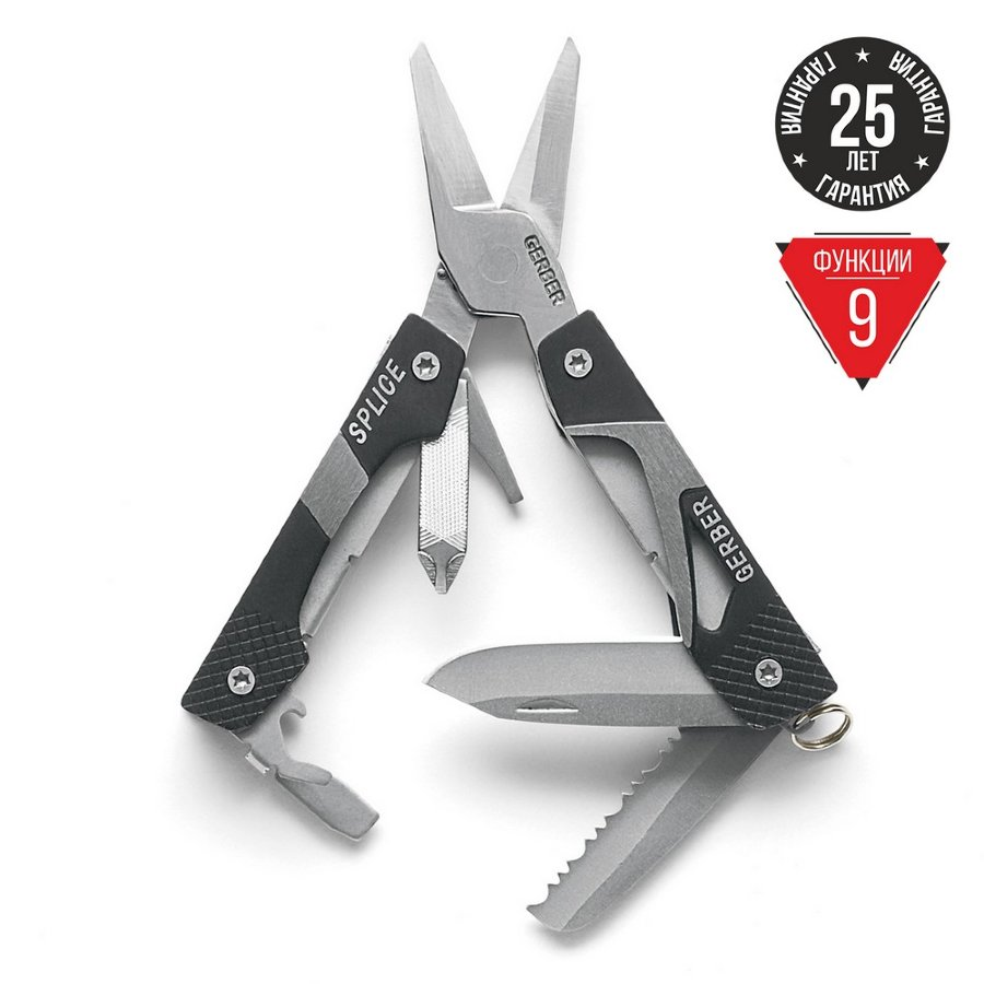 Мультитул Gerber Splice Pocket Tool, 31-000013