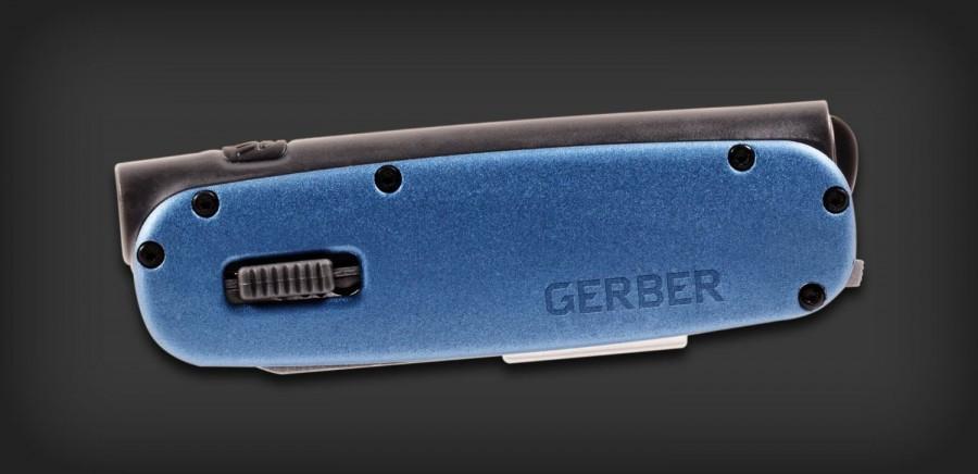 Мультитул Gerber Fit Light Tool, синий, блистер, 31-000731