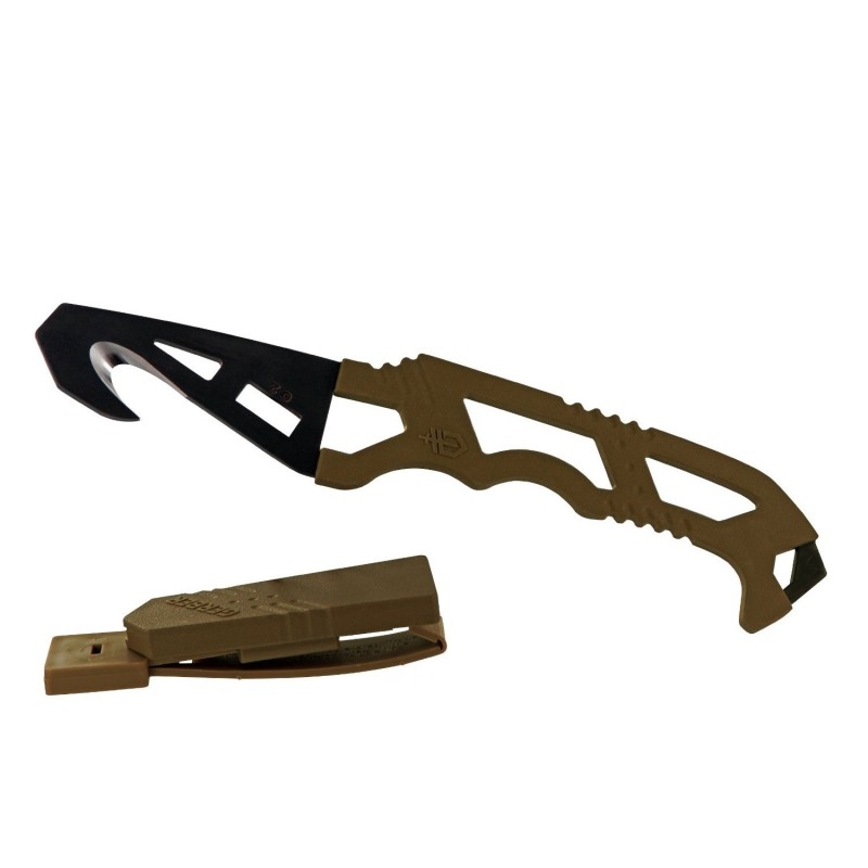 Нож Gerber Crisis Hook Knife TAN499, блистер, 30-000590