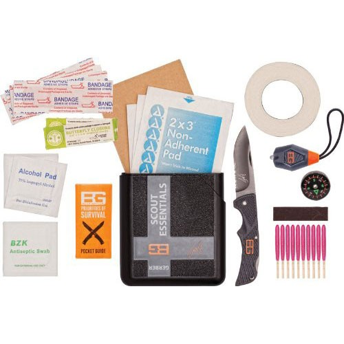 Набор для выживания Gerber Bear Grylls Scout Essentials Kit, Plastic case, 31-001078